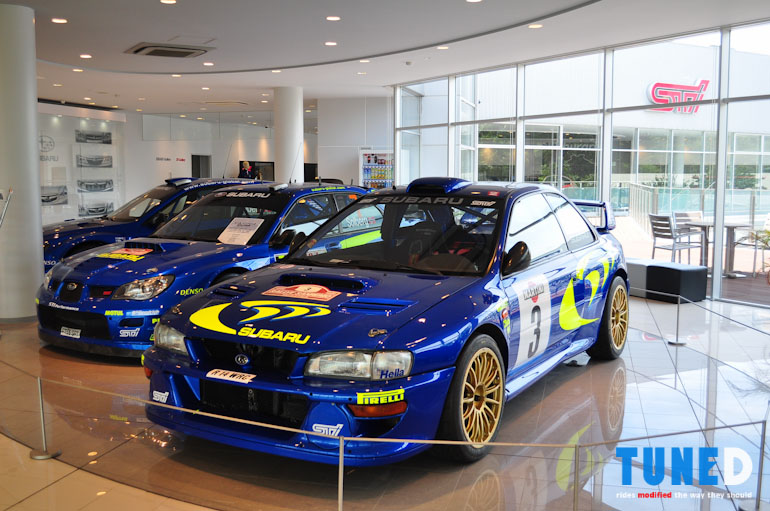 rally bred n r proven the subaru tecnica international showroom tuned. Black Bedroom Furniture Sets. Home Design Ideas