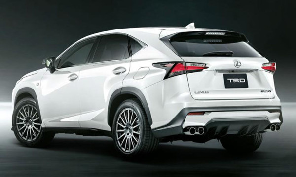 new lexus nx crossover gets trd tuning tuned. Black Bedroom Furniture Sets. Home Design Ideas