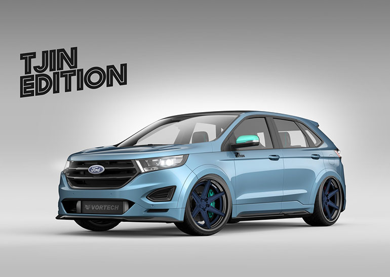 custom ford edge concepts to debut at sema 2015 tuned. Black Bedroom Furniture Sets. Home Design Ideas