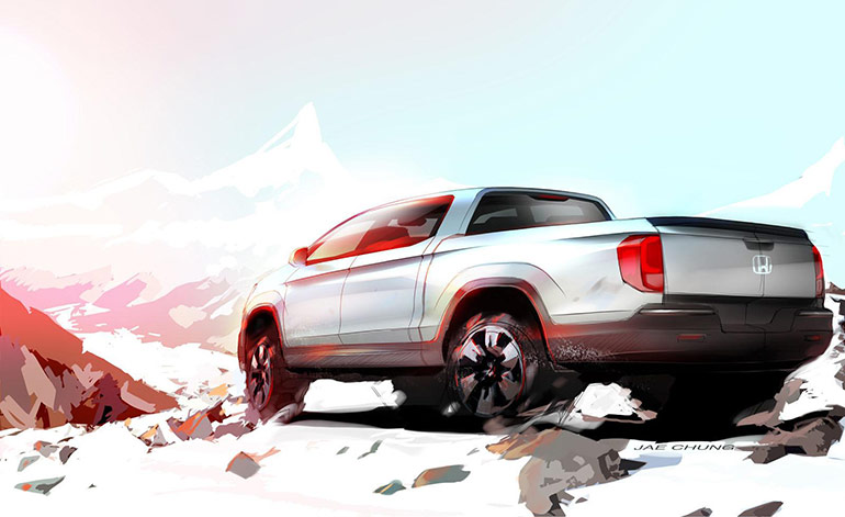 Honda Is Set To Bring The Ridgeline Desert Race Truck Concept At The 2015  Specialty Equipment Market Association (SEMA) Show In Las Vegas Next Month.